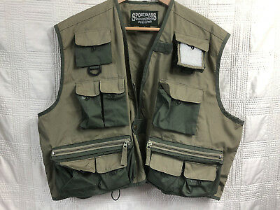 Sportsman's Warehouse Mens XL Fly Fishing Vest Extra Large