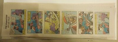 """(46) """"The Phantom"""" Sundays by Lee Falk from 1999 Near Complete Year ! Quarters"""
