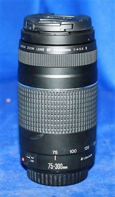 Canon Zoom EF 75-300mm 1:4-5.6 III Zoom Lens