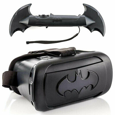 VRSE Batman VR Glasses Virtual Reality Game w/ Bluetooth/Remote for Samsung/iOS