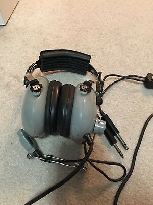 SOFTCOMM C-40 Aviation Pilots Headset w Microphone CONCEPT INDUSTRIES