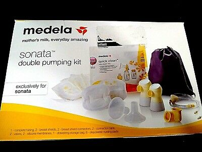 New Medela Sonata Double Breast Pumping Kit 68053 - NEW