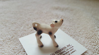 Hagen Renaker Cow Spotted Calf Figurine Miniature Gift New Free Shipping 00211