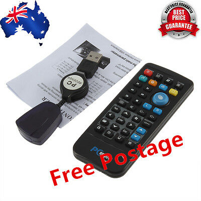 Wireless PC USB Windows Media Center Remote Control Controller Up To 18M YW
