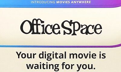 Office Space 20th Anniversary Digital HD Release Only.