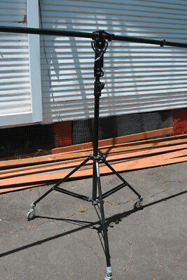 Manfrotto 025B & superboom & stand