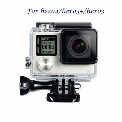 Waterproof Underwater Diving Housing Cover Case Kit For GoPro Hero 3 3+ 4 NEW XH