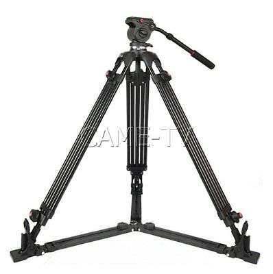 Professional Video Tripod Low Height Ground Extension