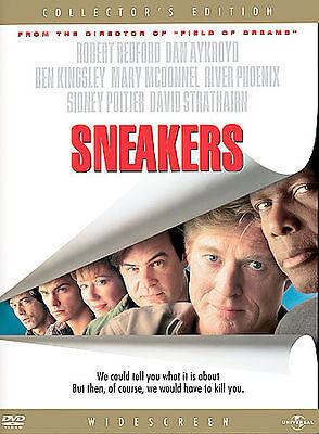 Sneakers (DVD, Region 1) Very Good condition from personal collection!