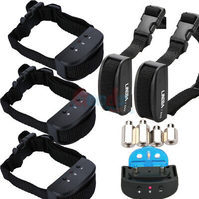 5XPetrainer Anti Bark Shock Dog Trainer Stop Barking Pet Training Control Collar
