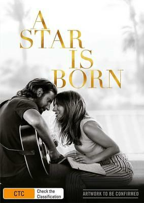 A STAR IS BORN (2018): Lady Gaga, Bradley Cooper, Music, Romance - R2 DVD not US