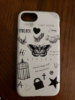 Harry Styles Tattoos High Quality Silicone case (iPhone 7, 8)