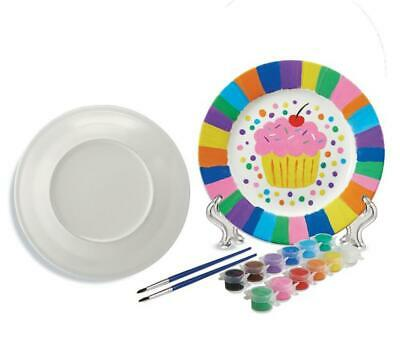 Paint Your Own Porcelain (Plates) - Mindware Free Shipping!