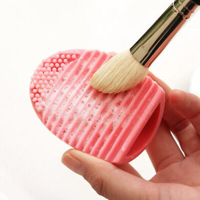 1Pc Makeup Brush Cleaner Silicone Cosmetic Brush Egg Practical Cleaning Tools
