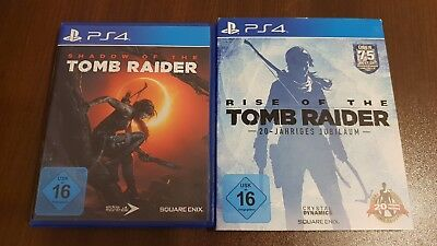 Shadow of the Tomb Raider - Standard Edition PS4 + Rise of the Tomb Raider