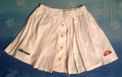 SKIRT TENNIS  woman vintage 80's ELLESSE tg.42-S Made in Italy new   RARE