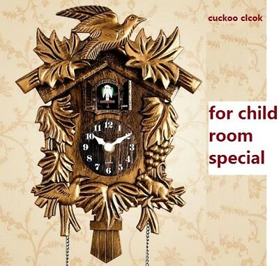 Europea Cuckoo Clock House Wall Clock Large Boys Girls Room Home Decor