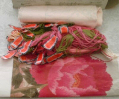 """Tokyo Japanese Bunka Embroidery Kit #136 """"Flower"""" colors as shown in picture"""