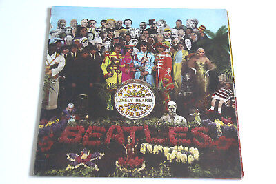 THE BEATLES - Sgt. Peppers Lonely Hearts Club Band - ODEON - Vinyl LP  washed