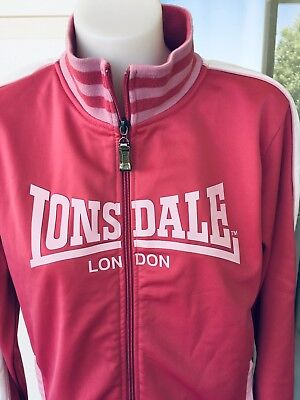 Authentic Lonsdale Womens   Activewear Jacket Size 10