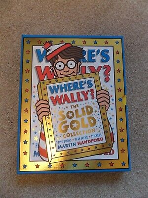 Where's Wally? The Solid Gold Collection - 5 Books plus sticker book