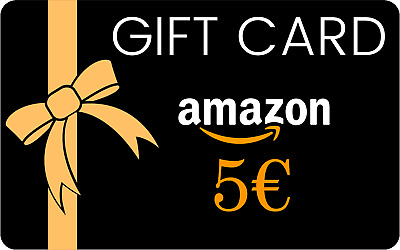 Coupon Buono Regalo Amazon da 5€ Gift Card | Codice sconto su Amazon Italia