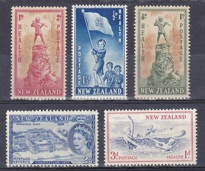 New Zealand Stamps Lot