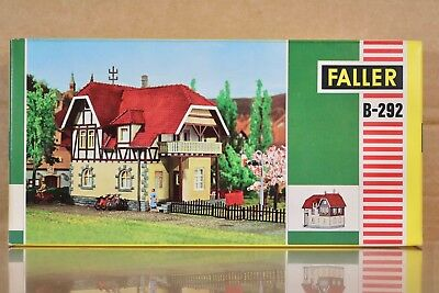 FALLER B-292 HO SCALE OLD TIME CITY MANSION HOUSE MODEL RAILWAY LAYOUT KIT nq