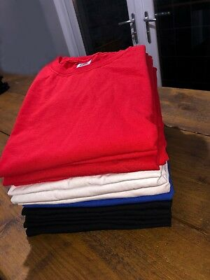 Wholesale Job Lot Mixed Colour and Size 15 FOTL T-Shirts NEW