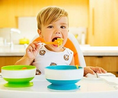 3 Pack Munchkin Stay Put Suction Bowls For Babies Toddlers To Prevents Spills