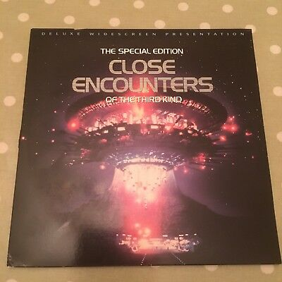 Close Encounters Of The Third Kind Special Edition Laserdisc NTSC