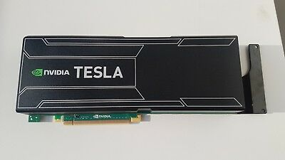Tesla nVidia K20X GPU Card 6GB OEM Dell IBM HP with bracket and cable