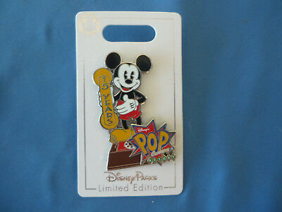 MICKEY  Disney Pin POP CENTURY 15 Years  2018 2019 Limited Edition NEW  on Card