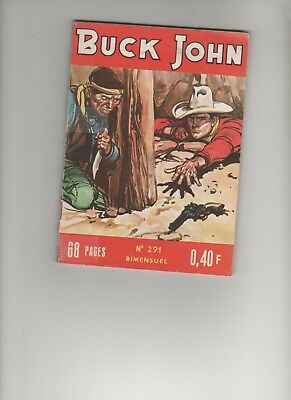 BD BUCK JOHN 291 Reserve indienne 1965 EDITIONS : IMPERIA