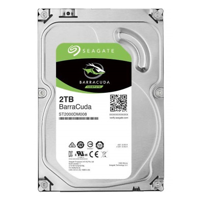 Hard Disk Interno 3,5 Seagate Barracuda 2Tb St2000Dm008