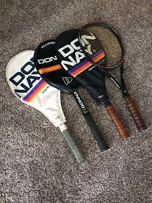 Vintage Donnay Tennis Racquets Borg Collectibles