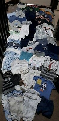 Huge Bundle Of Baby Boy Clothes 0-3-6months #561 GAP NEXT GEORGEetc manyTrousers