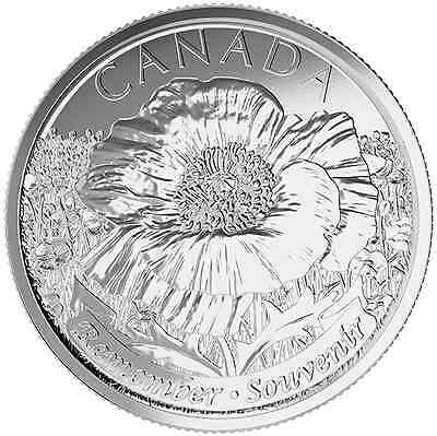 2015 Remembrance Poppy Quarters Canadian Coins Roll IN HAND *Non-coloured ONLY**