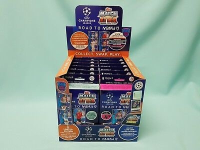 Topps Match Attax Champions League Road to Madrid 19  1 Display / 12 Deck Boxen