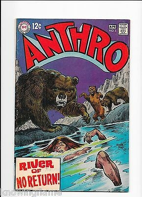 Anthro #5 Silver Age DC Comic Howie Post 1968 VG/F