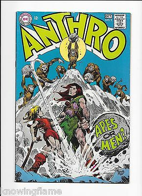 Anthro #2 Silver Age DC Comic Howie Post 1968 VG/F