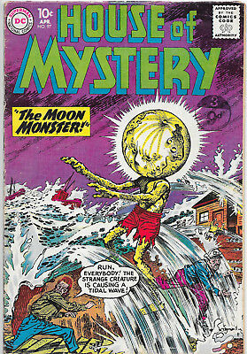 House Of Mystery #97 Silver Age DC Comics VG