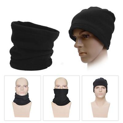 Women Men Fashion Thermal Beanie Snood Scarf Neck Warmer Ski Face Protector Best