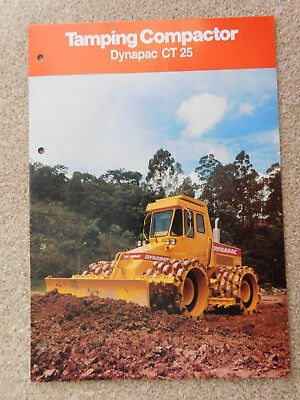 Prospekt Dynapac CT25 Tamping Compactor - Brasilien