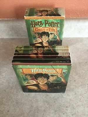 Pre-Owned Audio Book on 17 CDs HARRY POTTER GOBLET OF FIRE Rowling Unabridged