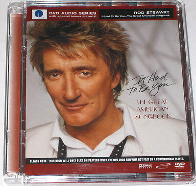 Rod Stewart - It Had To Be You...The Great American Songbook DVD-Audio 5.1-Sound