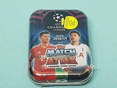 Topps Match Attax Champions League 2018/2019 Mini Tin Motiv C Limited Edition