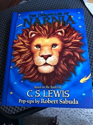 The chronicles of narnia based on the Books by CS Lewis Pop Ups By Robert Sabuda
