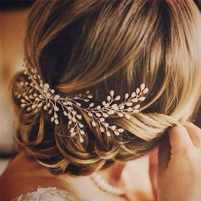 Bridal Elegant Ornaments  Crystal  Wedding  Hair   Five-petal  Jewelry