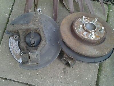ford mondeo rear hubs and discs
